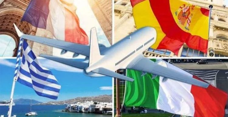 Holidays: France, Italy, Spain, Greece and Portugal latest FCDO advice as restrictions eas