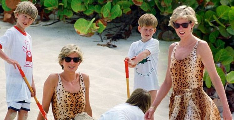 Princess Diana's £5,000 a night holiday on Richard Branson's private island unveiled