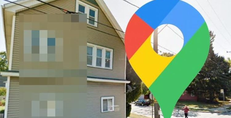 Google Maps Street View: Sinister figure lurks behind window in very creepy photo