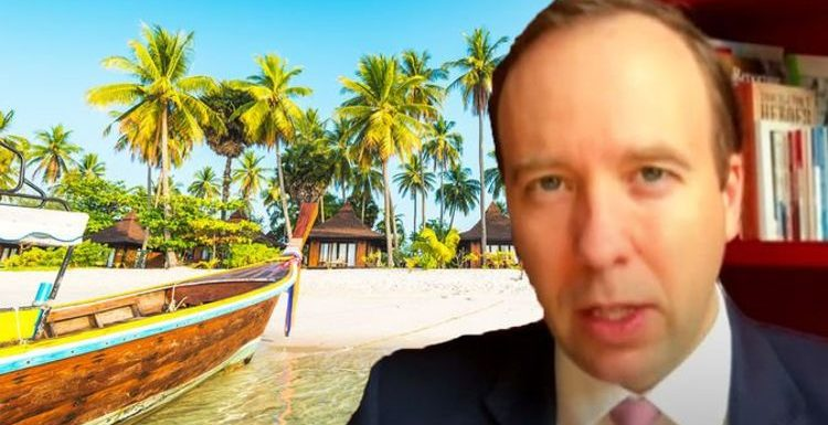 Holidays: Matt Hancock warns 'wait and see' amid 'risk' of foreign travel this summer