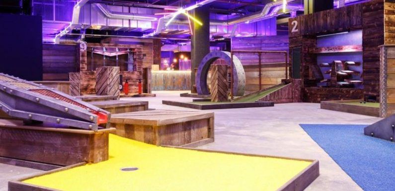 New adventure bars opening in UK will offer axe throwing, curling and beer pong