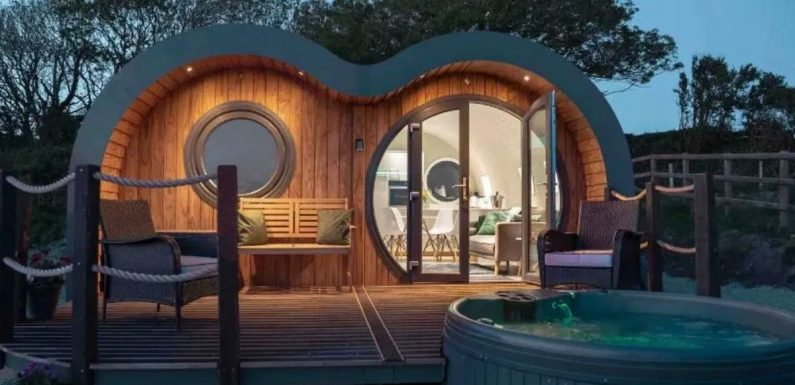 Top Airbnbs in the UK – from lakeside log cabins to luxury huts with hot tubs
