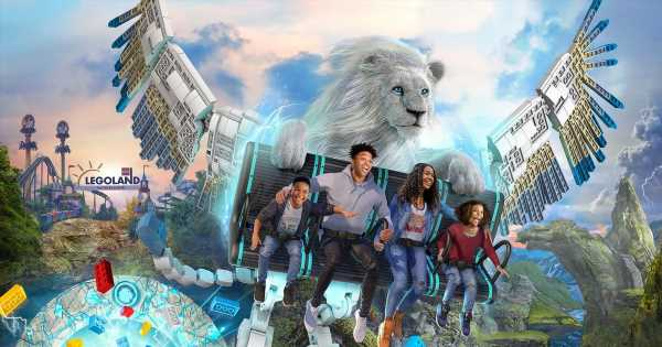 Legoland unveils UK's first flying theatre ride – The Flight of The Sky Lion