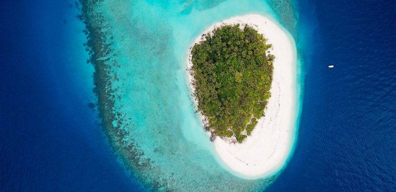Stunning private islands cheaper than average 2-bedroom home in the UK