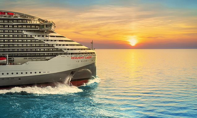 Virgin Voyages unveils its third cruise ship – Resilient Lady