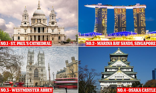 The world's most beautiful buildings, according to science