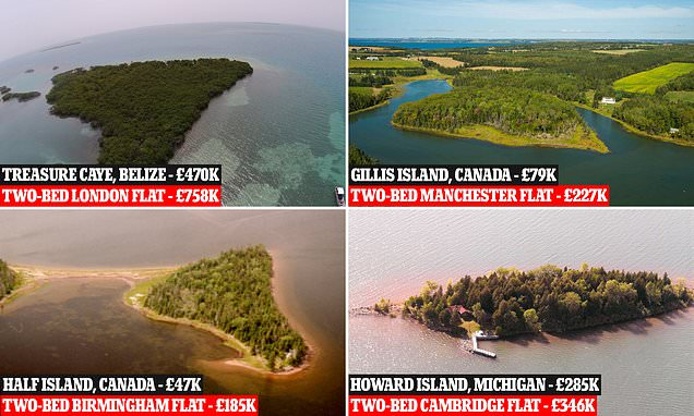 The private islands that are cheaper than UK two-bedroom city flats