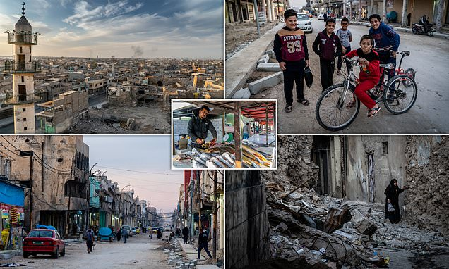 Photographer takes a day trip to Mosul and snaps astonishing images