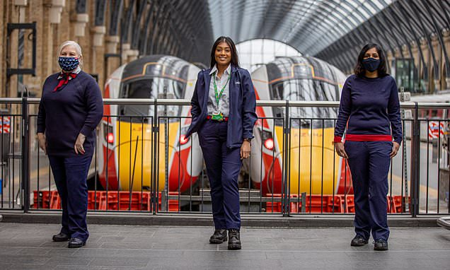 The inside track on being a female LNER train driver