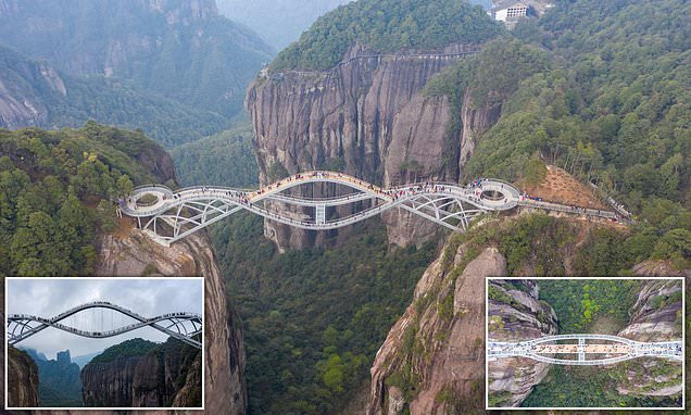 The 'bendy' bridge in China that some didn't believe was real