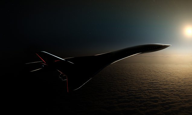 Passenger plane that can fly at over 3,000mphunveiled