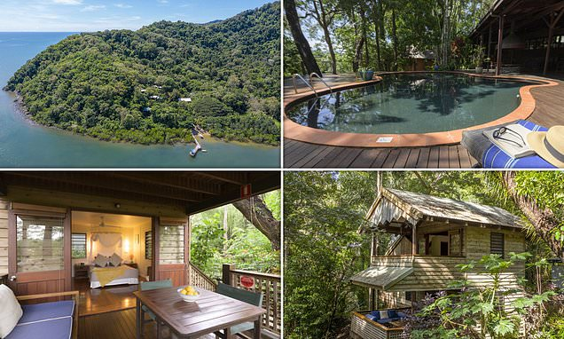 Great Barrier Reef lodge owned byTrailfinders founder is up for sale
