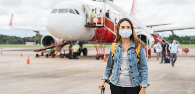 A health expert says you can travel after the first dose of Pfizer or Moderna's vaccine, but you should still avoid crowds