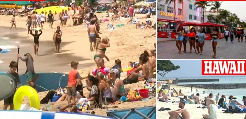 At least 28,000 Spring Breakers descend on Hawaii