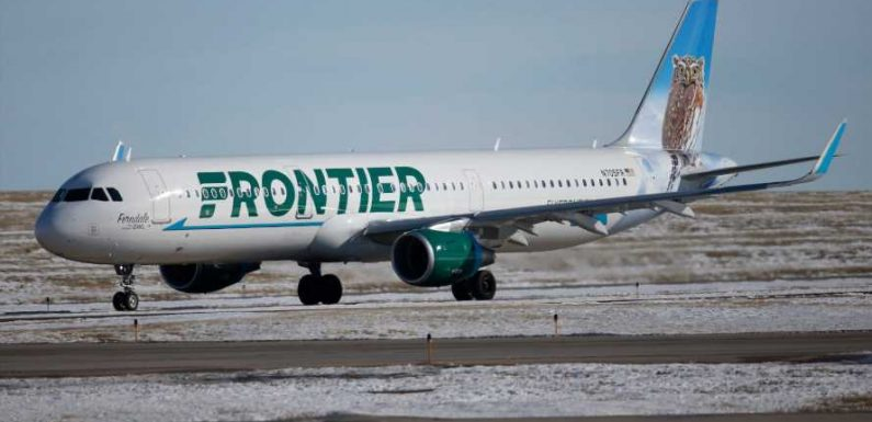 Frontier Airlines canceled a flight after booting a group of maskless passengers. Now it's facing claims of anti-Semitism.