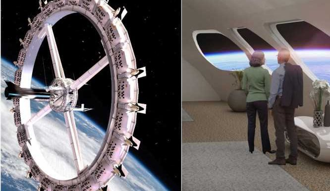 Book an out-of-this-world vacation. The first-ever 'space hotel' is set to open in 2027.