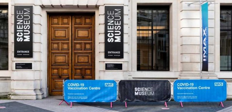 London's Science Museum reopens as an NHS vaccination centre this week