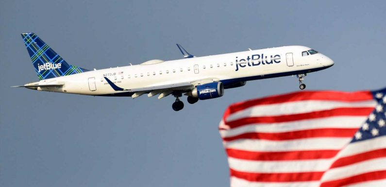 A JetBlue passenger who refused to wear a mask or stop drinking alcohol during the flight could be slapped with a $14,500 FAA fine