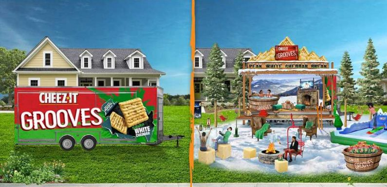 Cheez-it Is Giving Away the Ultimate At-home Spring Break, Complete With Surfing, Hot Tubs, and Mechanical Bulls