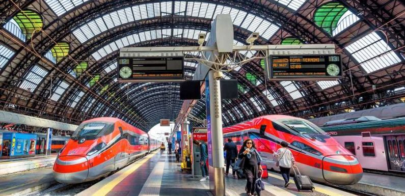 'COVID-free' Trains Will Soon Run Between Rome and Milan