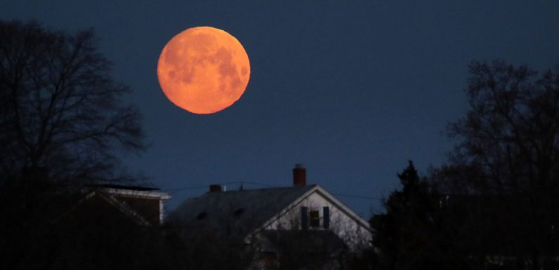 A Super Worm Moon Will Light Up the Sky This Weekend — How to See It