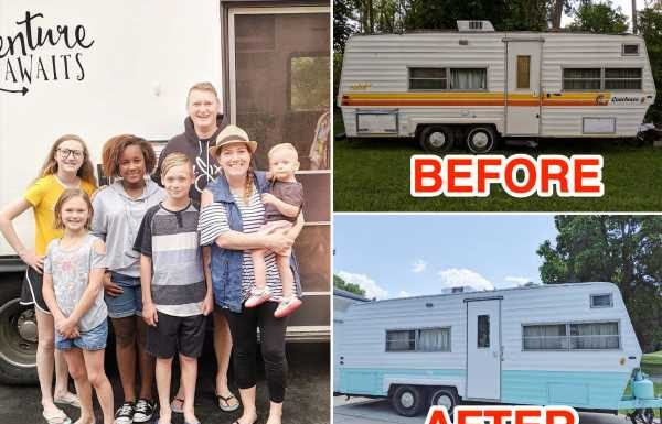 A mom of 5 has made $60,000 flipping RVs and spends the money on Disney trips and the kids' college funds