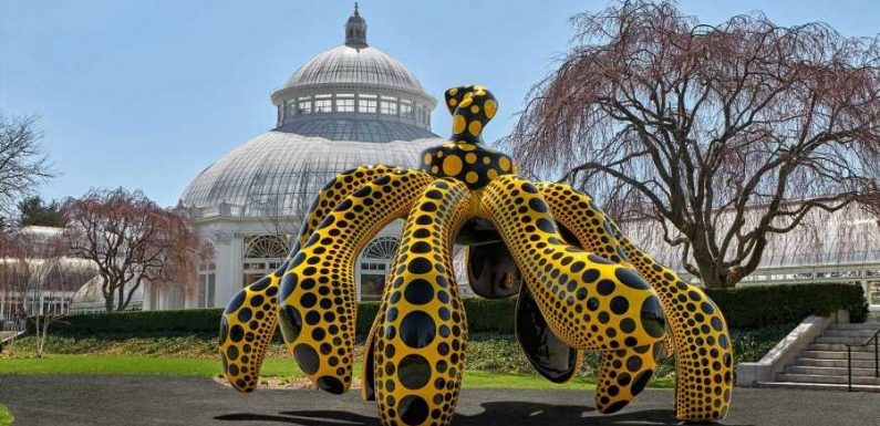 Beloved Artist Yayoi Kusama's 'Cosmic Nature' Exhibit Is Now Open at the New York Botanical Garden