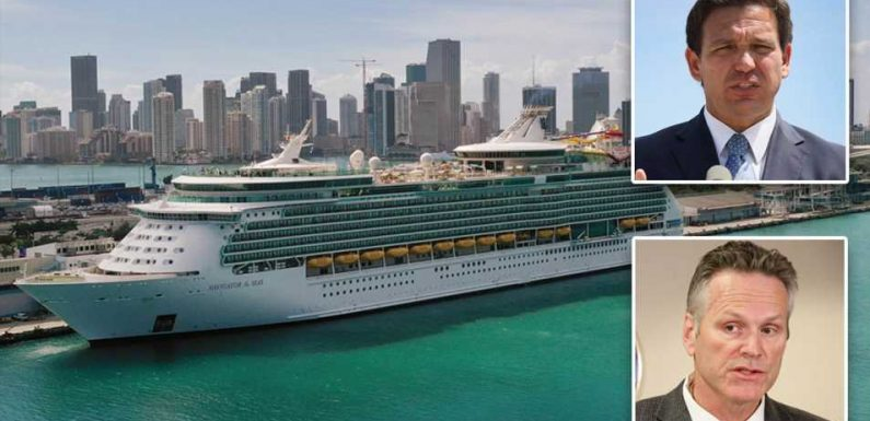 CDC says cruise ships could sail from mid-summer