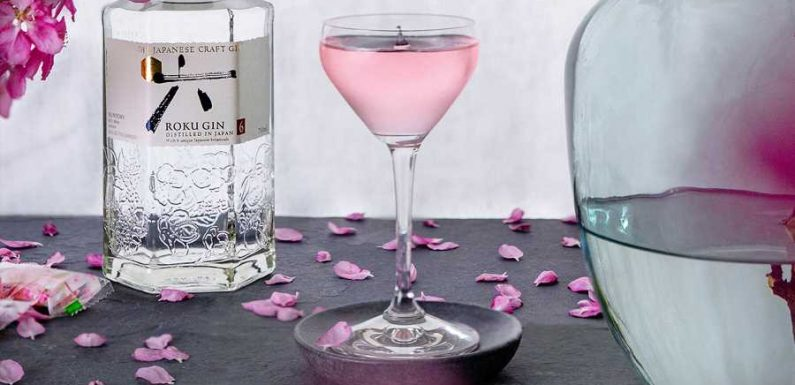 Celebrate Cherry Blossom Season All Year Long With This Delicious Japanese Craft Gin Cocktail