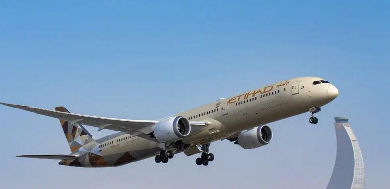 Etihad Airways completes first passenger flight from Abu Dhabi to Israel
