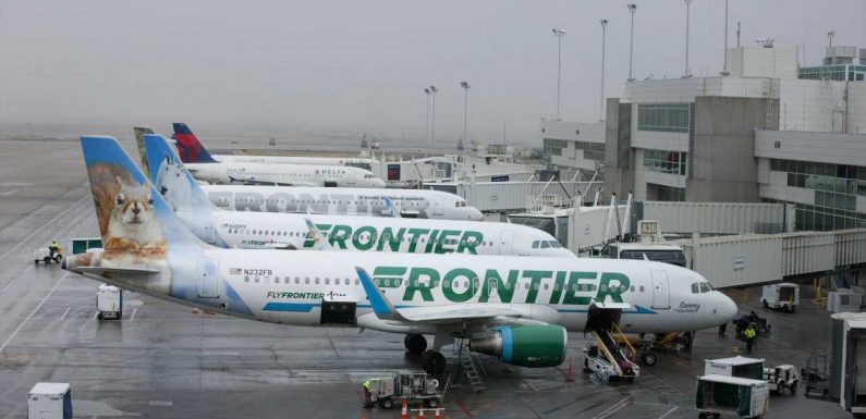 Frontier Airlines adds 4 cities to route map in 8-route expansion
