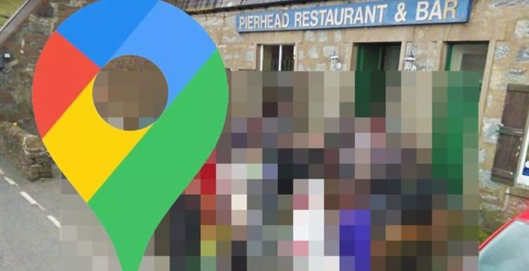 Google Maps Street View: Shetland Islands pub crowded by unlikely 'famous' visitors