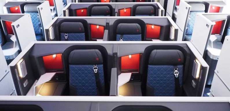 How to fly lie-flat to Mexico and the Caribbean with American and Delta award space