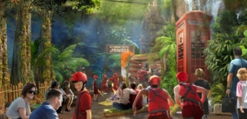 I'm a Celeb theme park to open in UK this year with zipwires & parachute trials