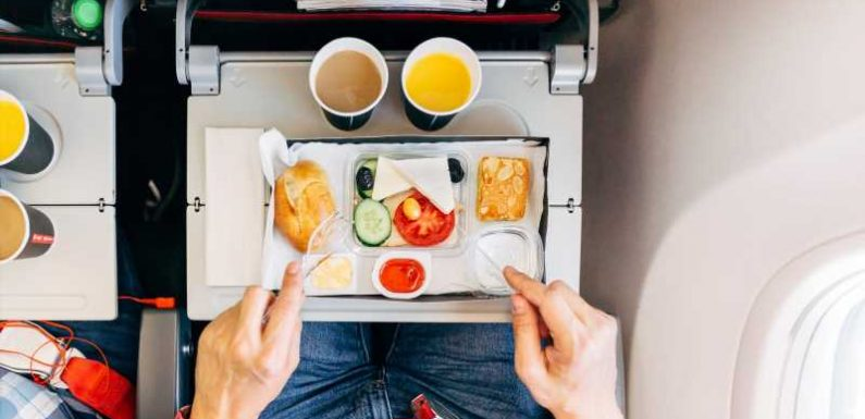 Is it safe to eat on a plane or a lounge after you've been vaccinated?