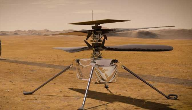 NASA's Ingenuity Helicopter Completed Its First-ever Flight on Mars