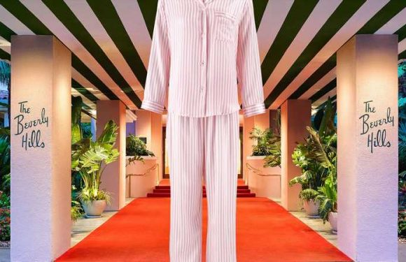 The Beverly Hills Hotel Just Launched the Most Adorable Pink Pajama Sets