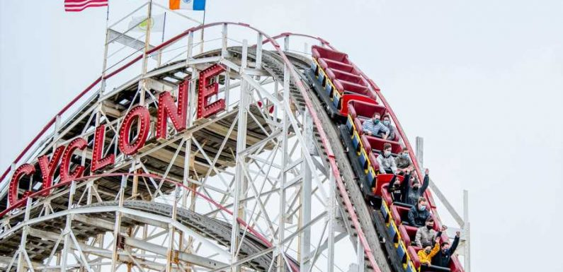 The Thrills Are Back at Coney Island's Amusement Parks After a 529-day Shutdown