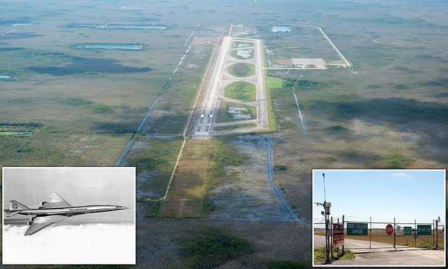 The story of the ghost airport in Florida with a runway to nowhere