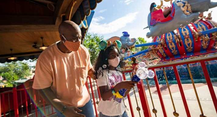 'We're home!': Engagements, excitement abound as Disneyland reopens