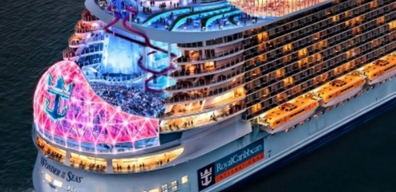 World's largest cruise ship to sail in 2022 features 'first living park at sea'