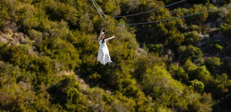 You Can Get Married While Speeding Down a Zip Line on This California Island