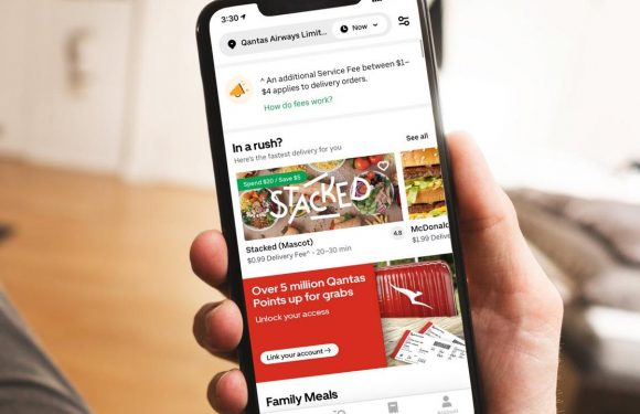 You could earn thousands of Qantas points by ordering Uber Eats