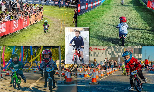 Your tot could be crowned world champion balance biker this August
