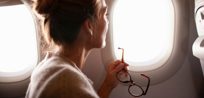 Flight attendants warn passengers never to lean on plane windows