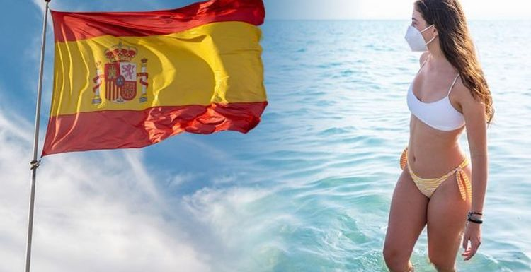 Spain holidays: Tourists won't need to wear face masks when sunbathing or swimming