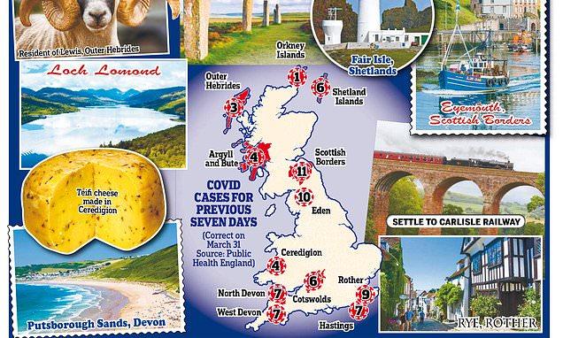 Revealed: The UK's safest beauty spots for a sublime staycation