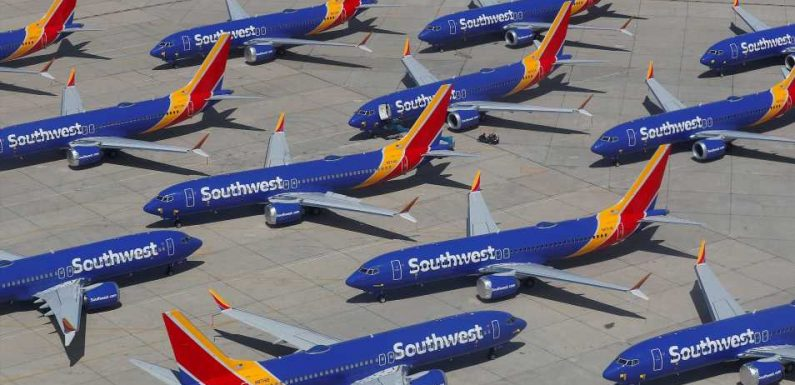American Airlines, United and Southwest ground troubled 737 Max jets