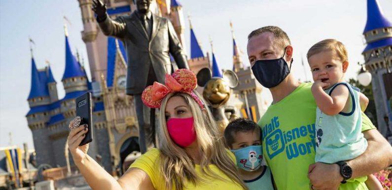 Walt Disney World Updates Face Mask Guidance
