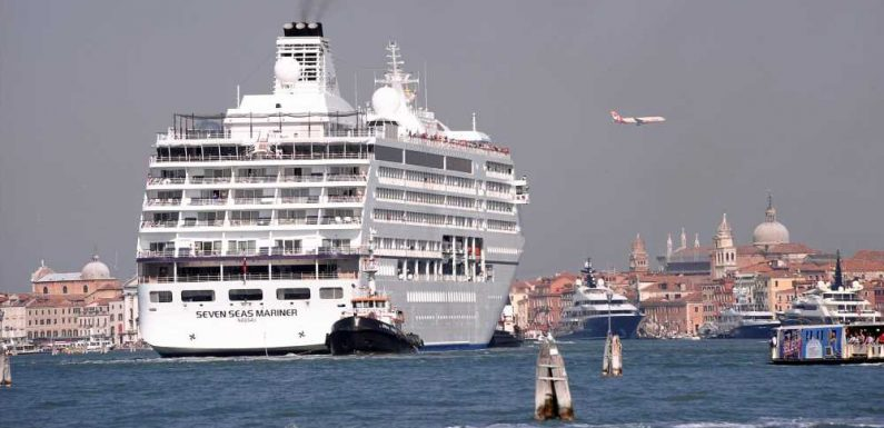 Venice Bans Cruise Ships From Historic Center